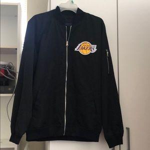 Los Angeles Lakers crewneck windbreaker